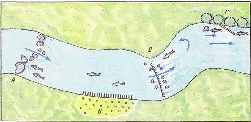 Ловля хариуса в малых реках