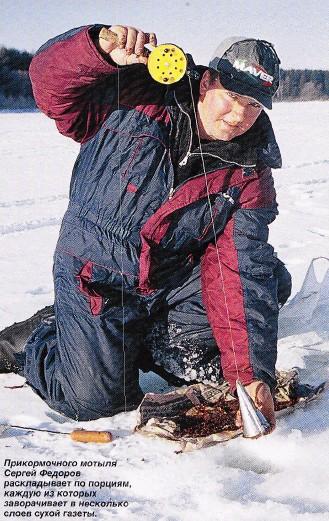 лучшая зимняя прикормка для плотвы